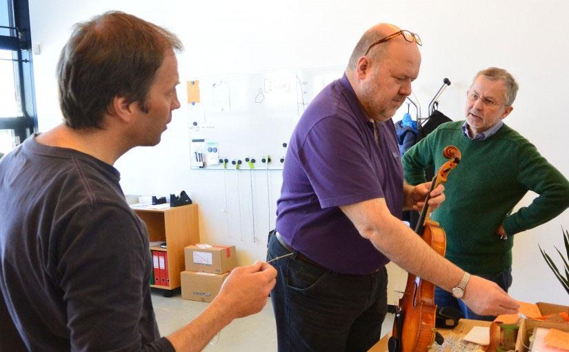 This week's visiting musician was violist Johan Korsfeldt