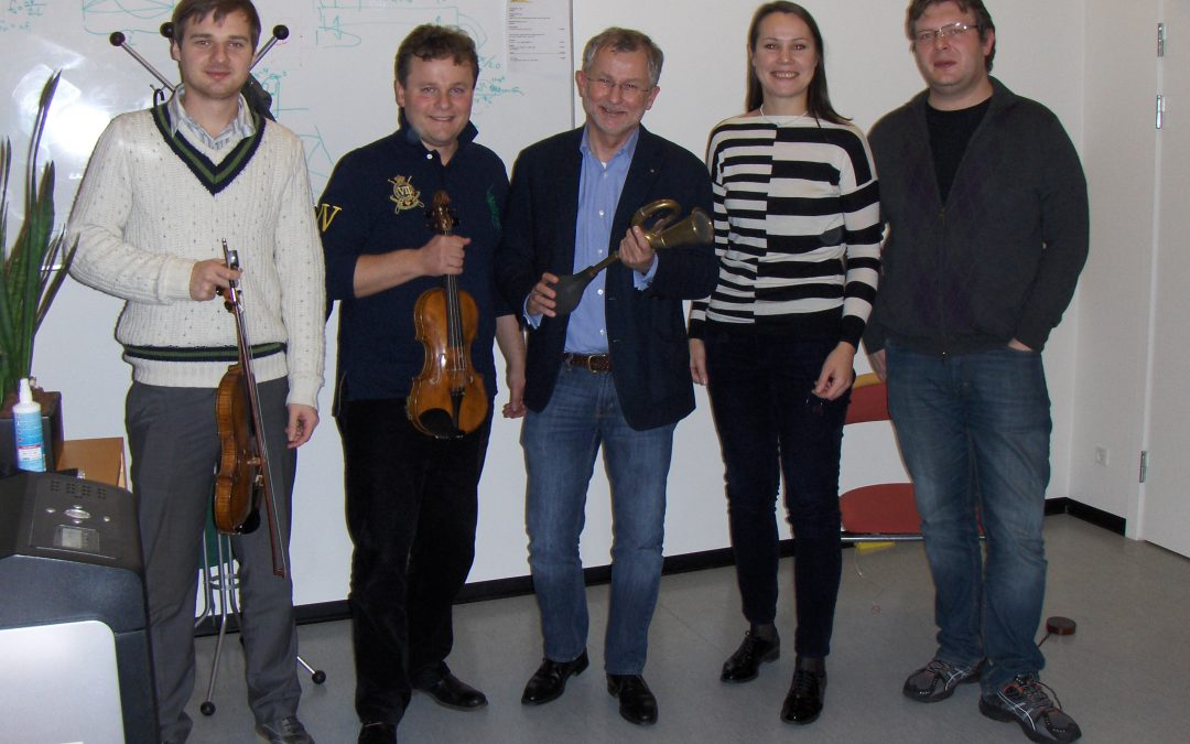 Discovering new sound possibilities for the string quartet