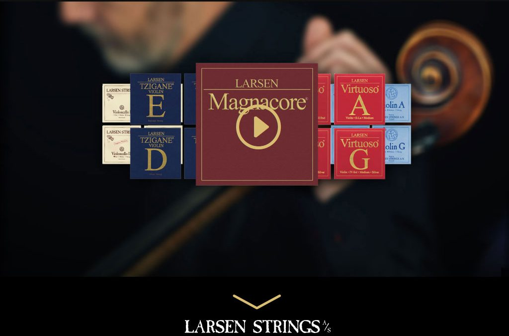 larsenstrings.com: The New Website
