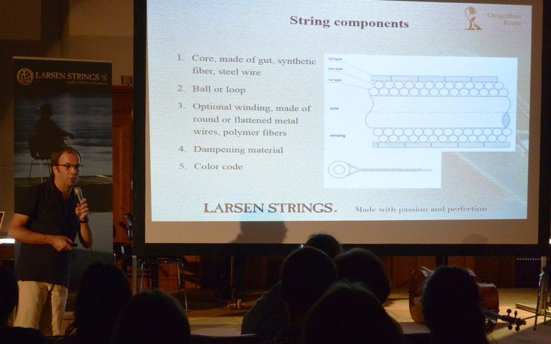 Larsen Strings is pleased to be: Kronberg Academy Master Partner