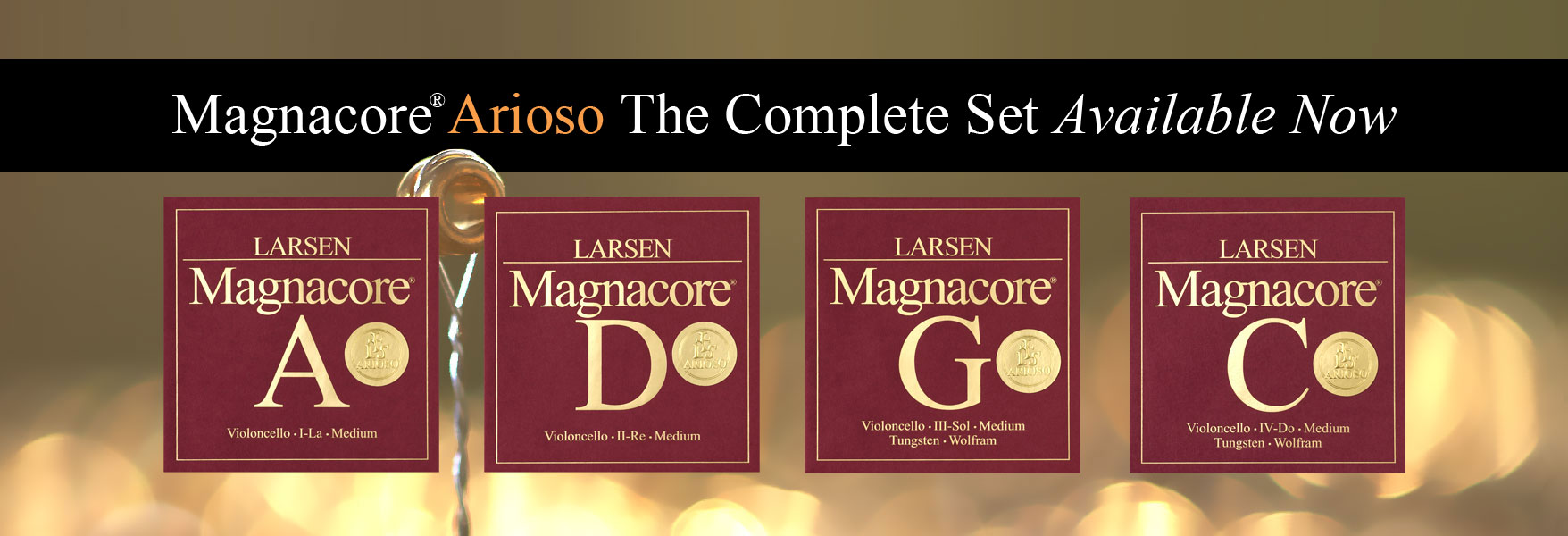 Magnacore® Arioso Cello Set