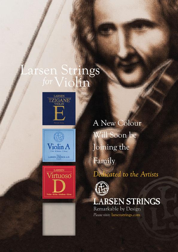Larsen Strings Strad Magazine