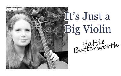 It's Just a Big Violin
