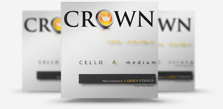 Crown Cello Strings from Larsen Strings