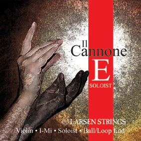 Larsen Strings for Violin Il Cannone Soloist E