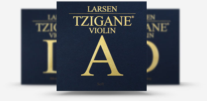 larsen tzigane violin strings imagery