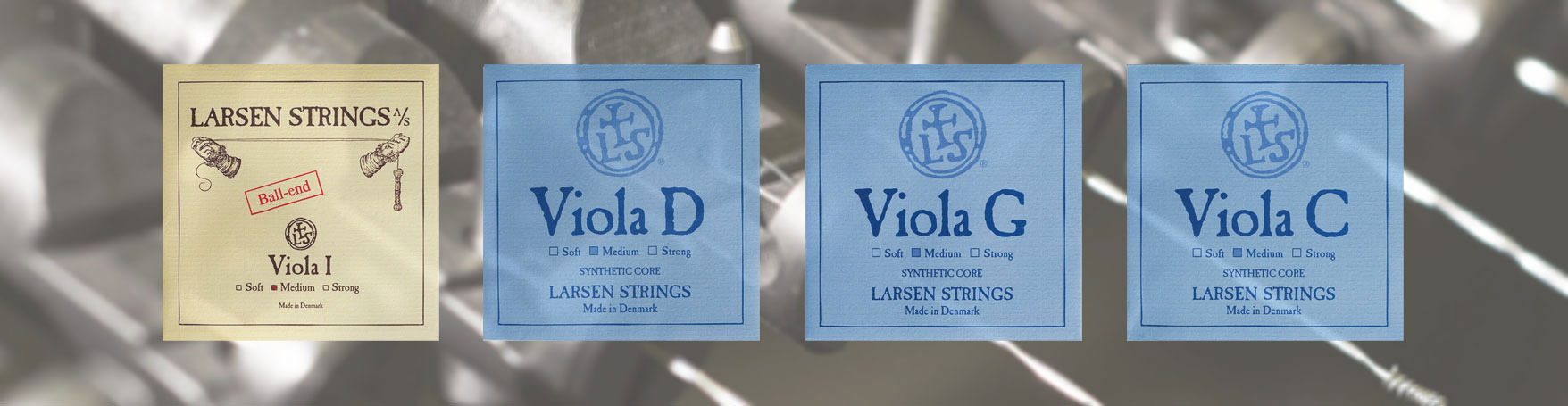 Larsen Original Viola Strings