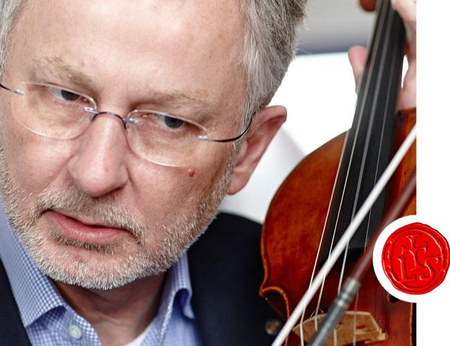 laurits larsen close up violin