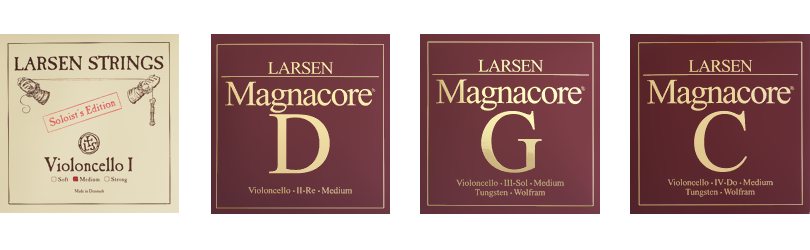 Soloist A and Larsen Magnacore