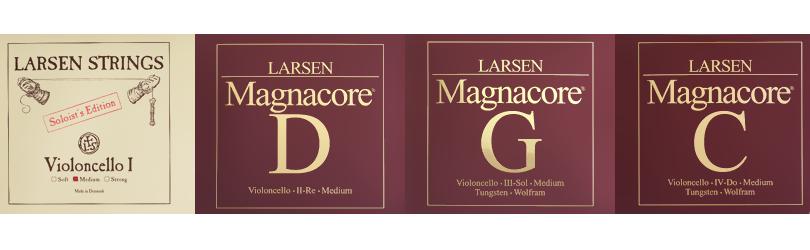 Soloist A and Larsen Magnacore