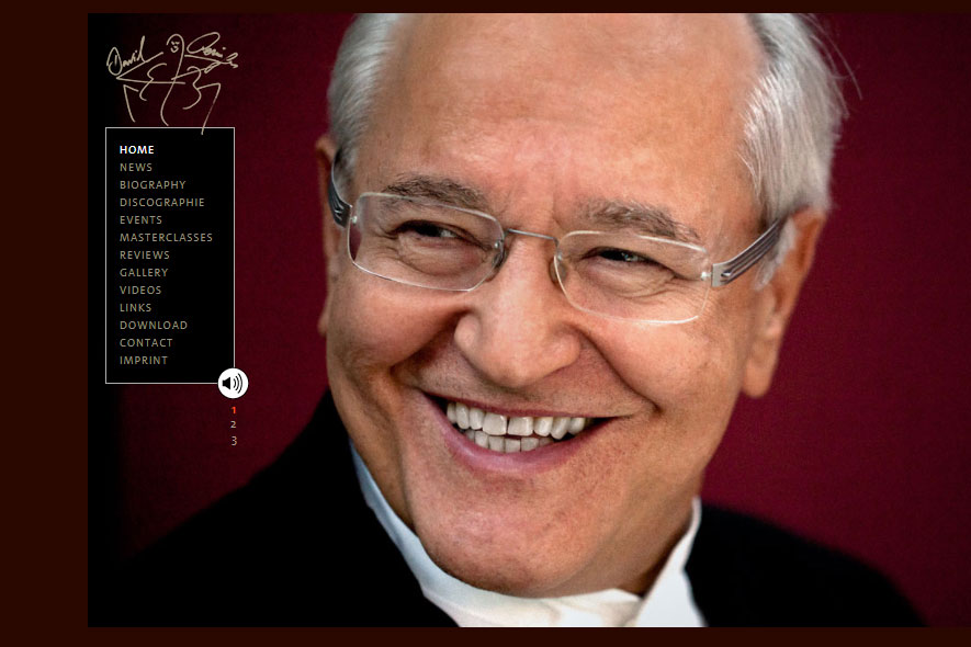 David Geringas Website
