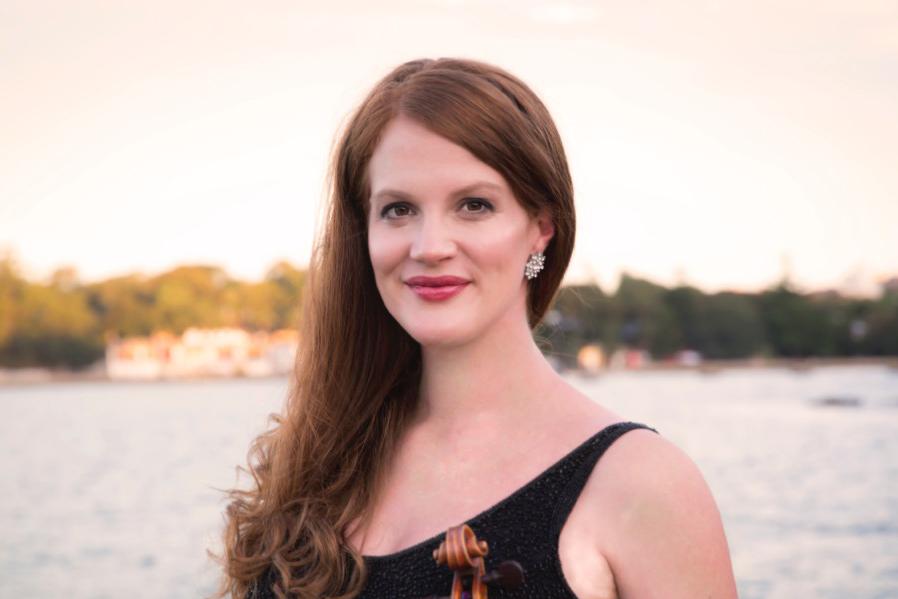 Emma Jardine, violinist, Streeton Trio, Il Cannone srtings