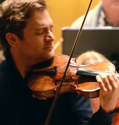 Renaud Capuçon in performance