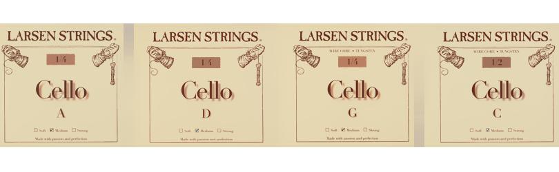 Larsen Fractional for Cello