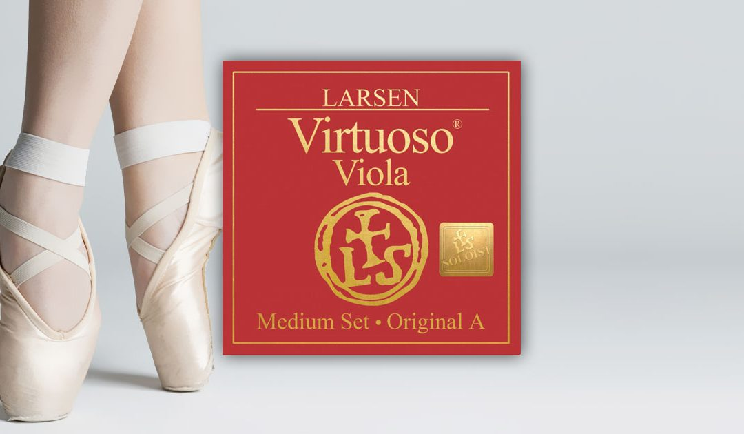 Review on Larsen Virtuoso Viola Strings- Michelle Urquhart