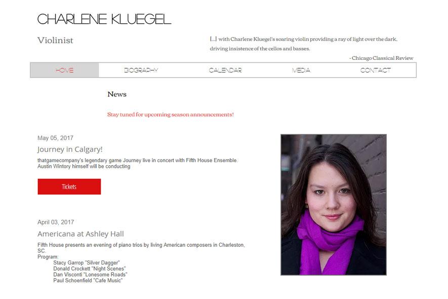 Charlene Kluegel Website