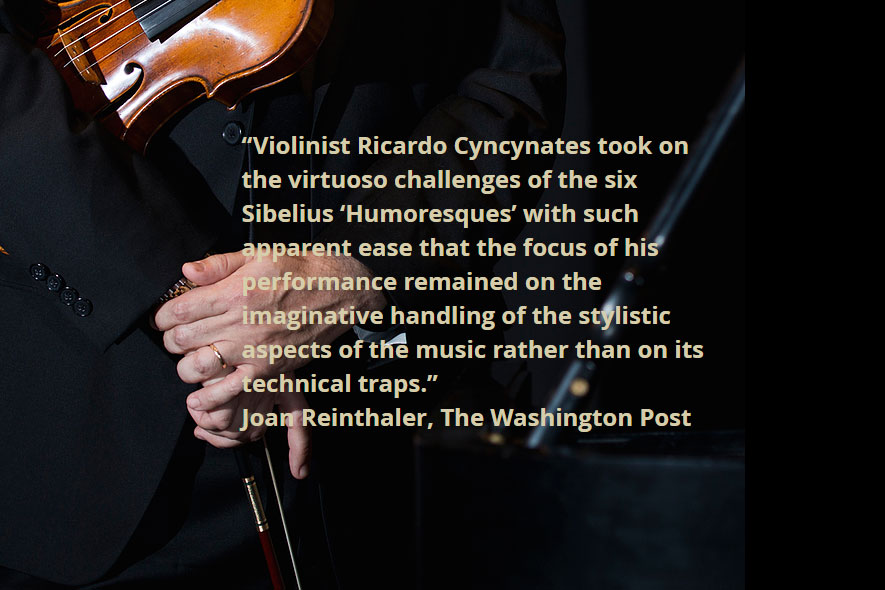 Ricardo Cyncynates Website