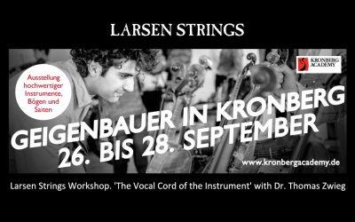 Larsen Strings on Tour