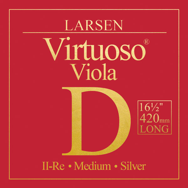 Virtuoso Viola Extra Long D