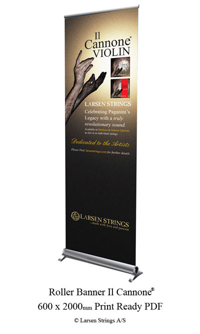 Il Cannone ® Roller Banner
