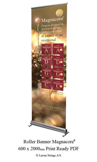 Magnacore ® Roller Banner