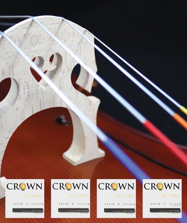 Crown Strings from Larsen