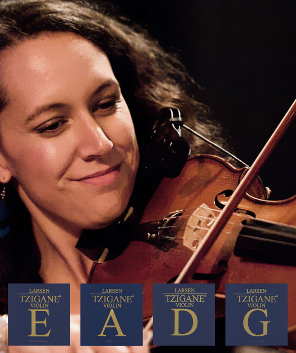 Larsen Tzigane For Violin For Traditional And Orchestral Violin