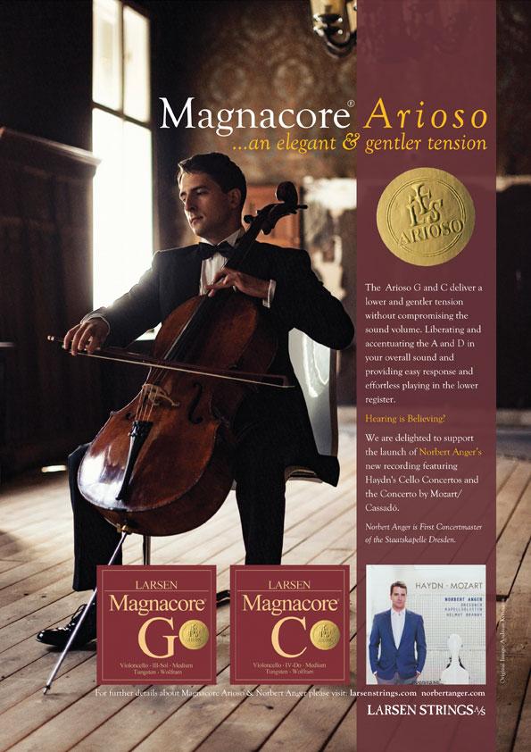Magnacore Arioso for Cello Norbert Anger