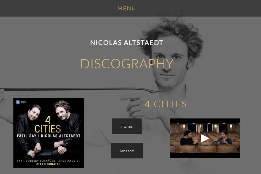 Nicolas Altstaedt Website