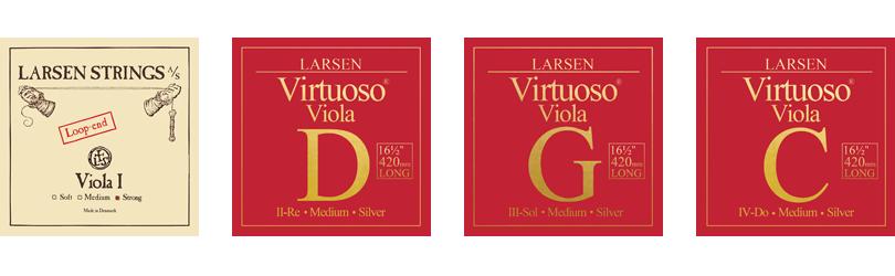 Larsen Virtuoso for Viola Extra Long