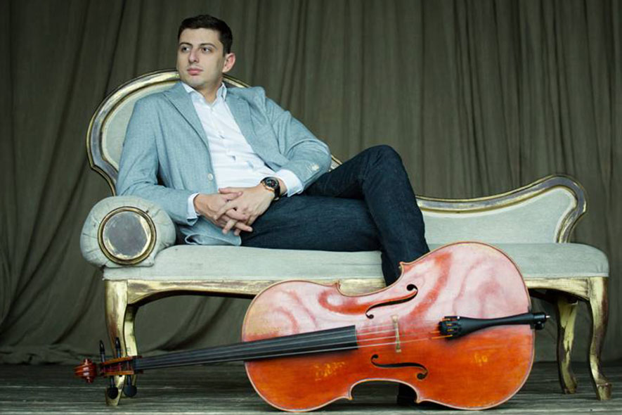 Narek Hakhnazaryan Larsen Strings