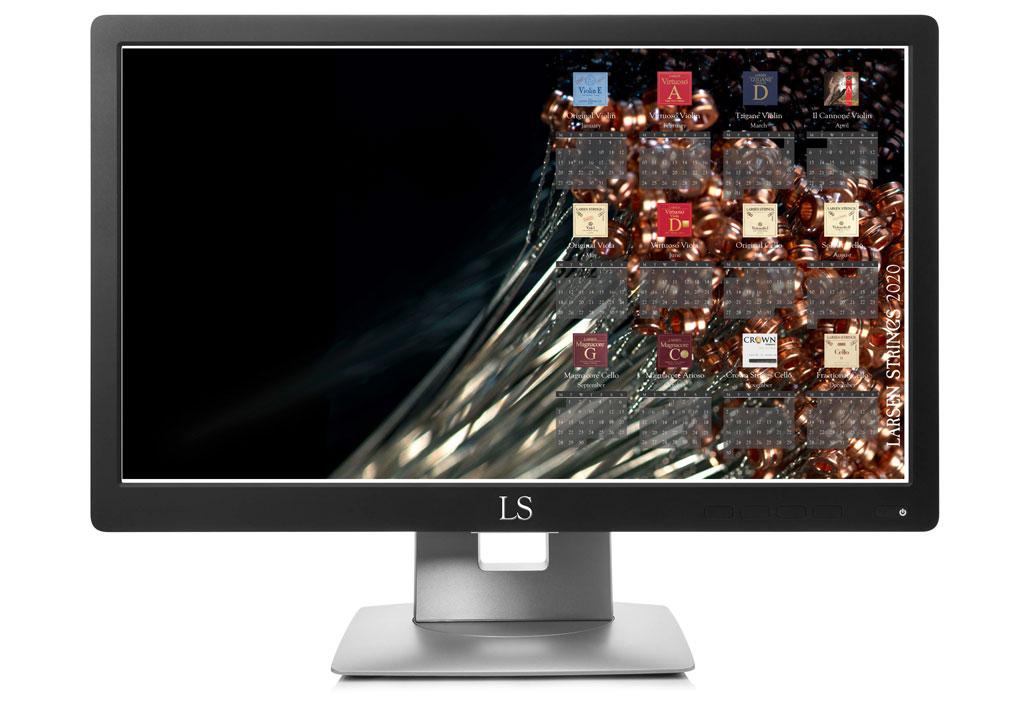 Larsen Desktop Calendar