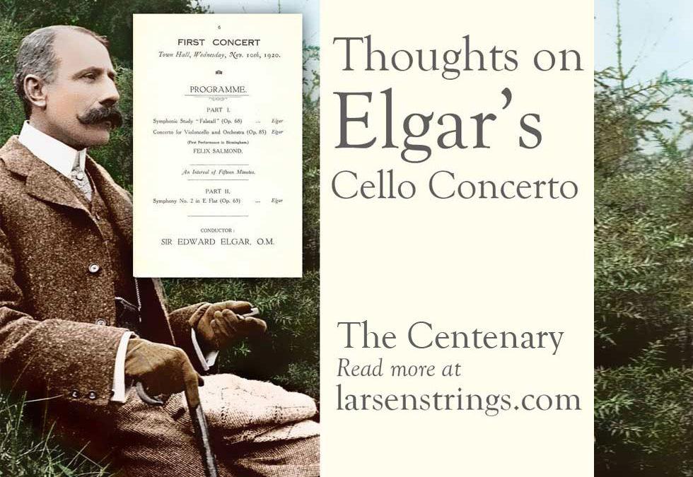The Centenary: Elgar's Cello Concerto