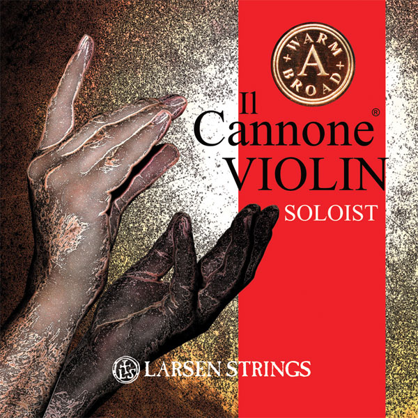Il Cannone ® A Warm & Broad Violin Soloist Set