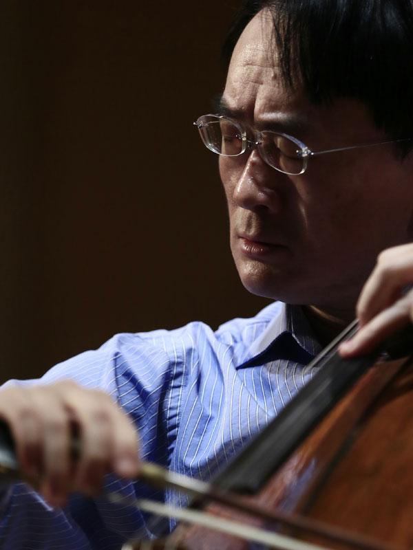 Jian Wang Cellist Larsen Strings