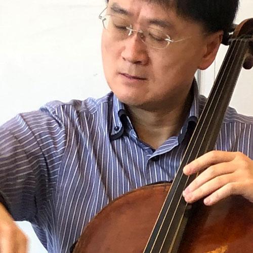Jian Wang tests Larsen Strings