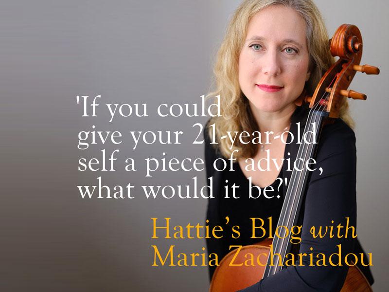Talking to Maria Zachariadou