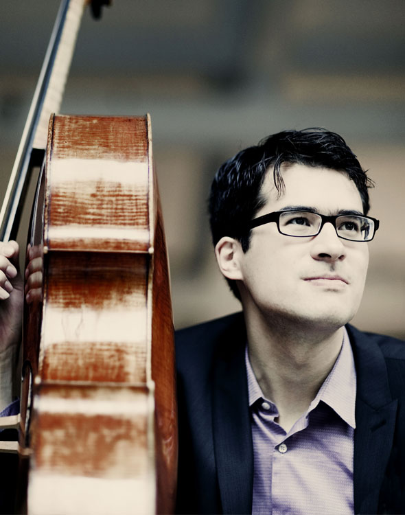 Danjulo Ishizaka cellist. © Marco Borggreve.