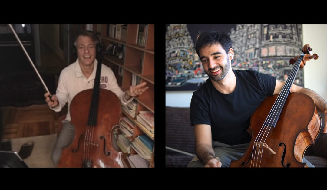 "Pablo Ferrández ""Talking Cello"" with Alban Gerhardt"