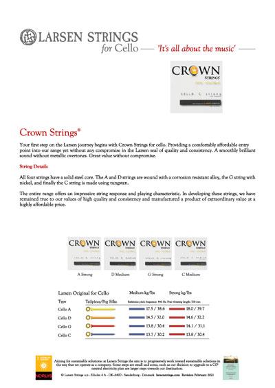 Larsen Crown Strings