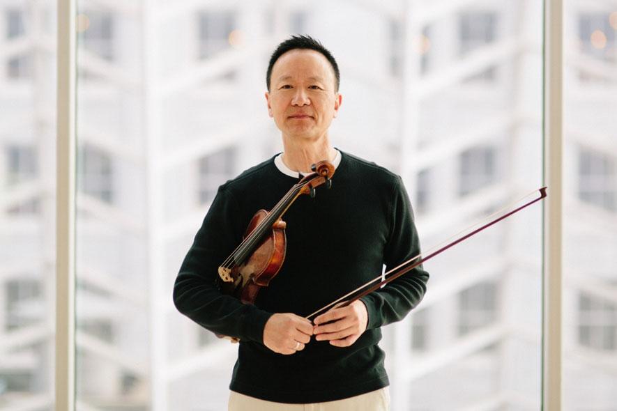 David Kim. Concertmaster.