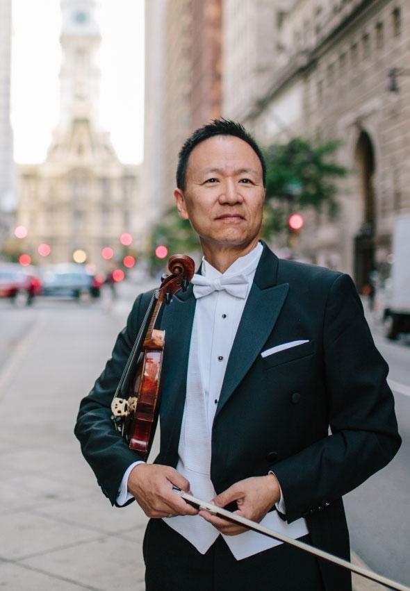 David Kim. Concertmaster, The Philadelphia Orchestra.