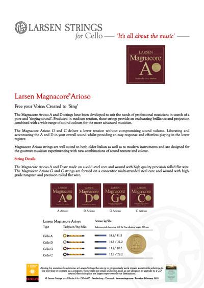 Larsen Magnacore Arioso