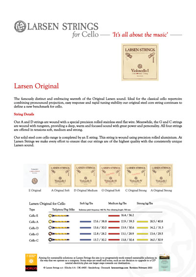 Larsen Original Cello