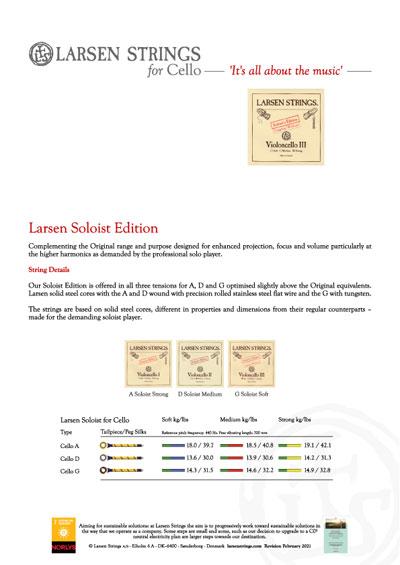 Larsen Soloist Cello