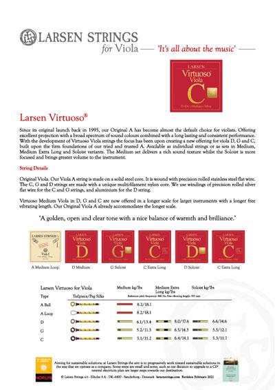 Larsen Virtuoso Viola