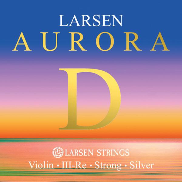 Larsen Aurora Violin D Silver