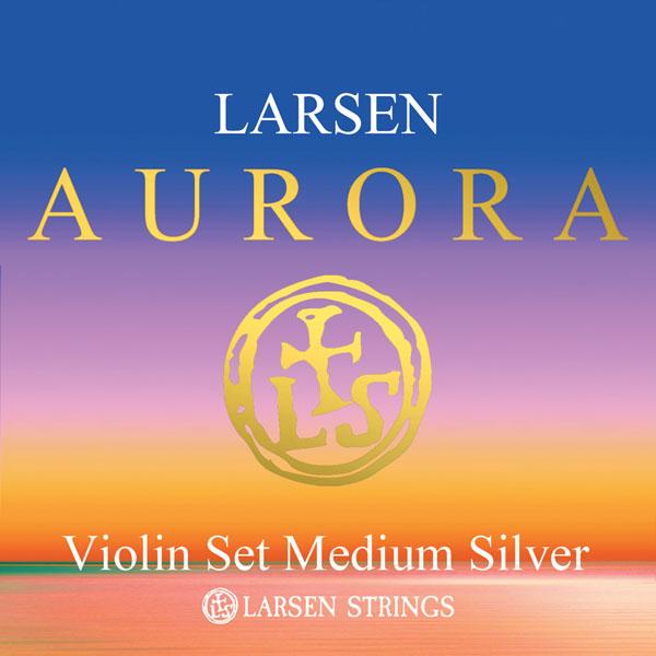 Aurora Violin E Medium Silver