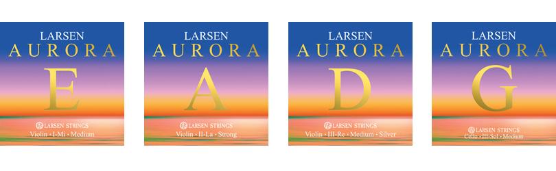 Aurora Violin Strings