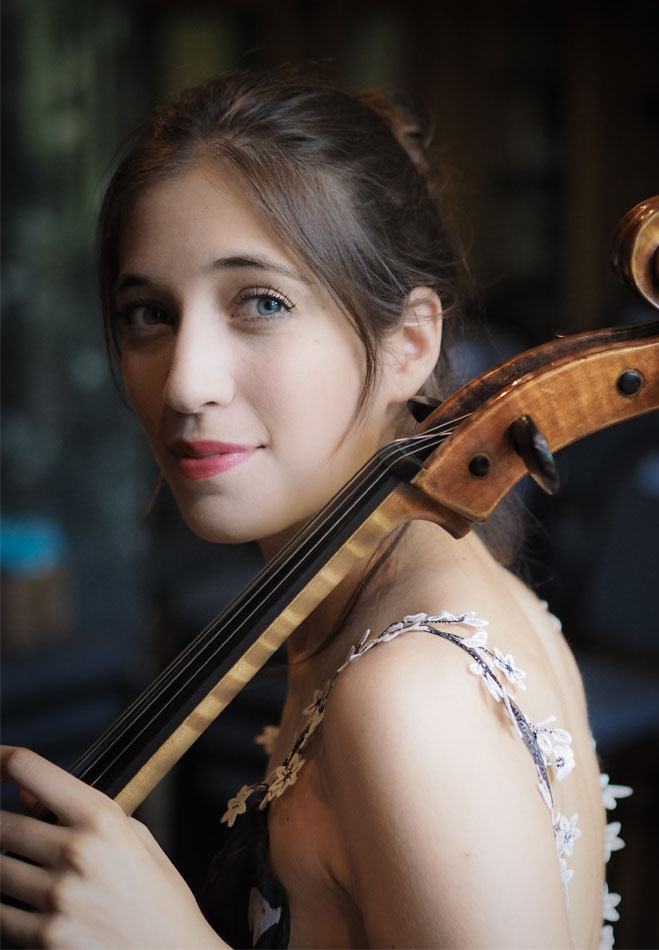 Camille Thomas Cellist. Image BenR